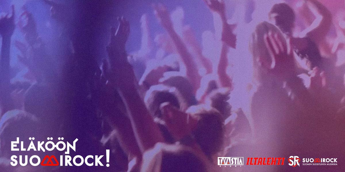 Eläköön SuomiRock! -gaala palkitsee kotimaisen rockin parhaat